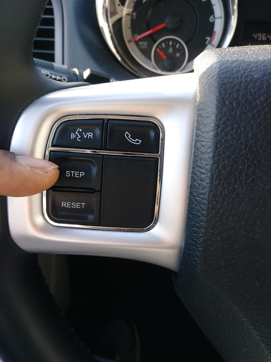 Dodge Grand Caravan Questions How Do I View The Outside Temp On