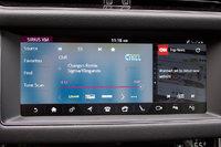 Infotainment screen of the 2018 Jaguar XF Sportbrake., interior, gallery_worthy