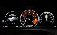 TFT instrument panel in the 2018 Jaguar XF Sportbrake, with Dynamic Mode engaged. , interior, gallery_worthy