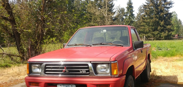 Picture of 1994 Mitsubishi Mighty Max Pickup 2 Dr STD 4WD Standard Cab SB
