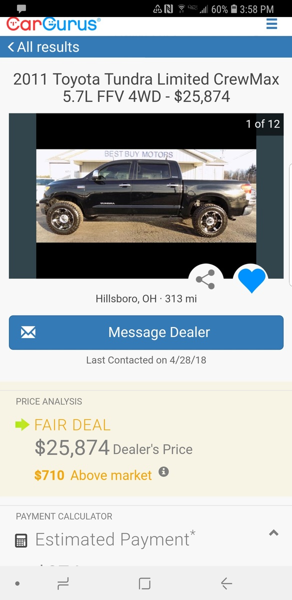 Toyota Tundra Questions - Trying to buy a truck I found - CarGurus