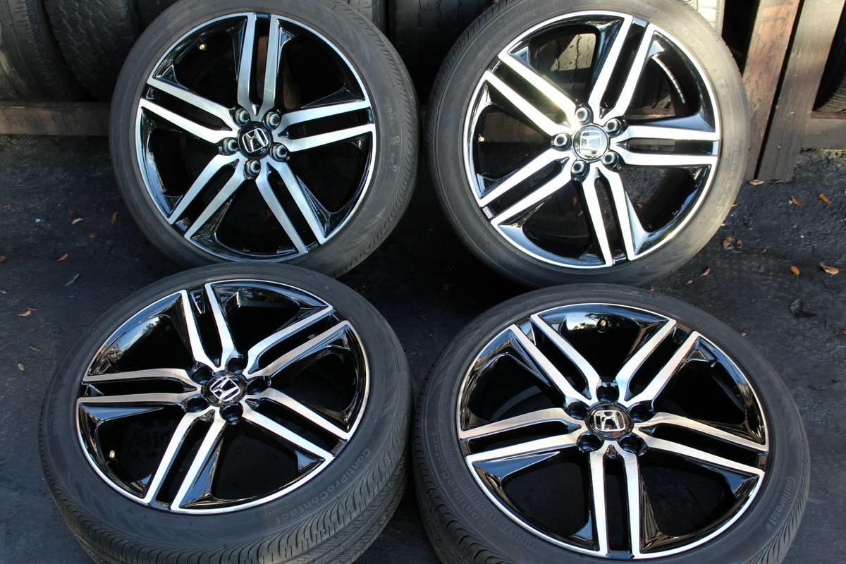honda accord 2015 with rims 202015 black honda accord sitting on 222015 accord sport wheels 2016. Black Bedroom Furniture Sets. Home Design Ideas