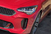 Front headlight detail of the 2018 Kia Stinger., exterior, gallery_worthy