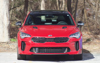 Front view of the 2018 Kia Stinger., exterior, gallery_worthy