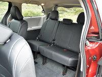 2018 Toyota Sienna SE 8-Passenger FWD, 2018 Toyota Sienna SE third-row seat, interior, gallery_worthy