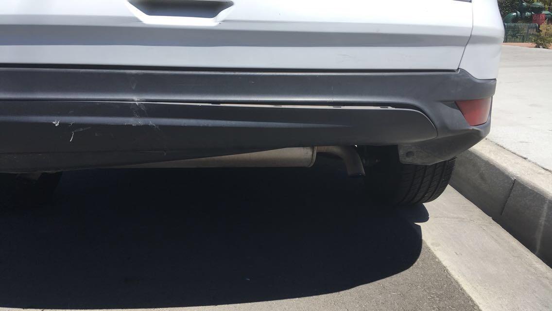Ford Escape Questions Rear Bumper On 2014 Ford Escape Cargurus