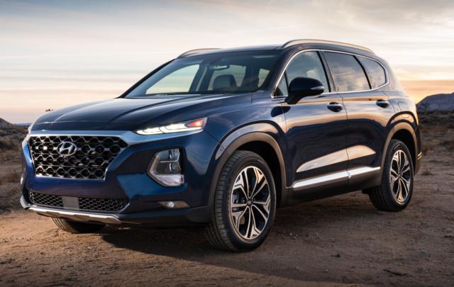 2019 Hyundai Santa Fe Overview Cargurus