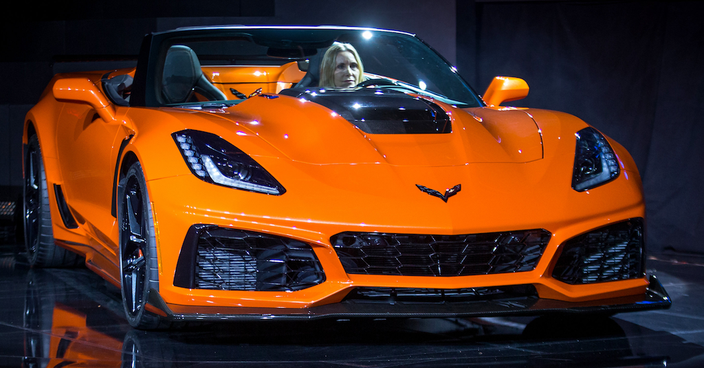 2019 chevrolet corvette - overview