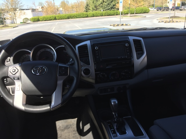 Picture Of 2015 Toyota Tacoma Double Cab V6 LB 4WD, Interior, Gallery_worthy