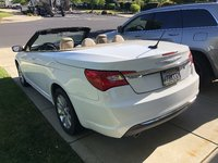 Picture of 2011 Chrysler 200 Touring Convertible, exterior, gallery_worthy