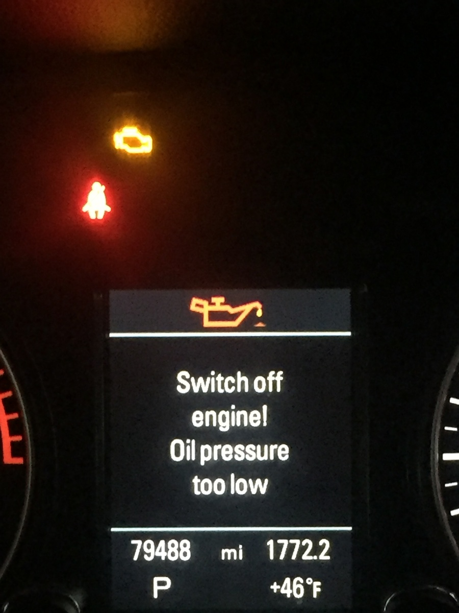 Audi A5 Questions - oil pressure too low/epc light - CarGurus