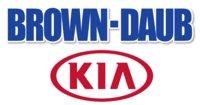 Brown Daub Kia logo
