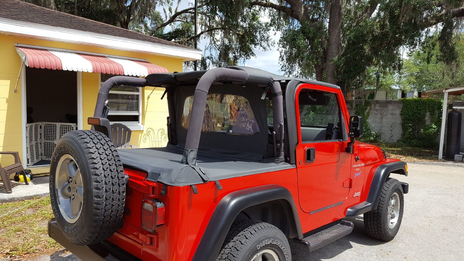 Jeep Wrangler Questions   CAN I REPLACE FULL DOORS FOR HALF DOORS ON A TJ?    CarGurus
