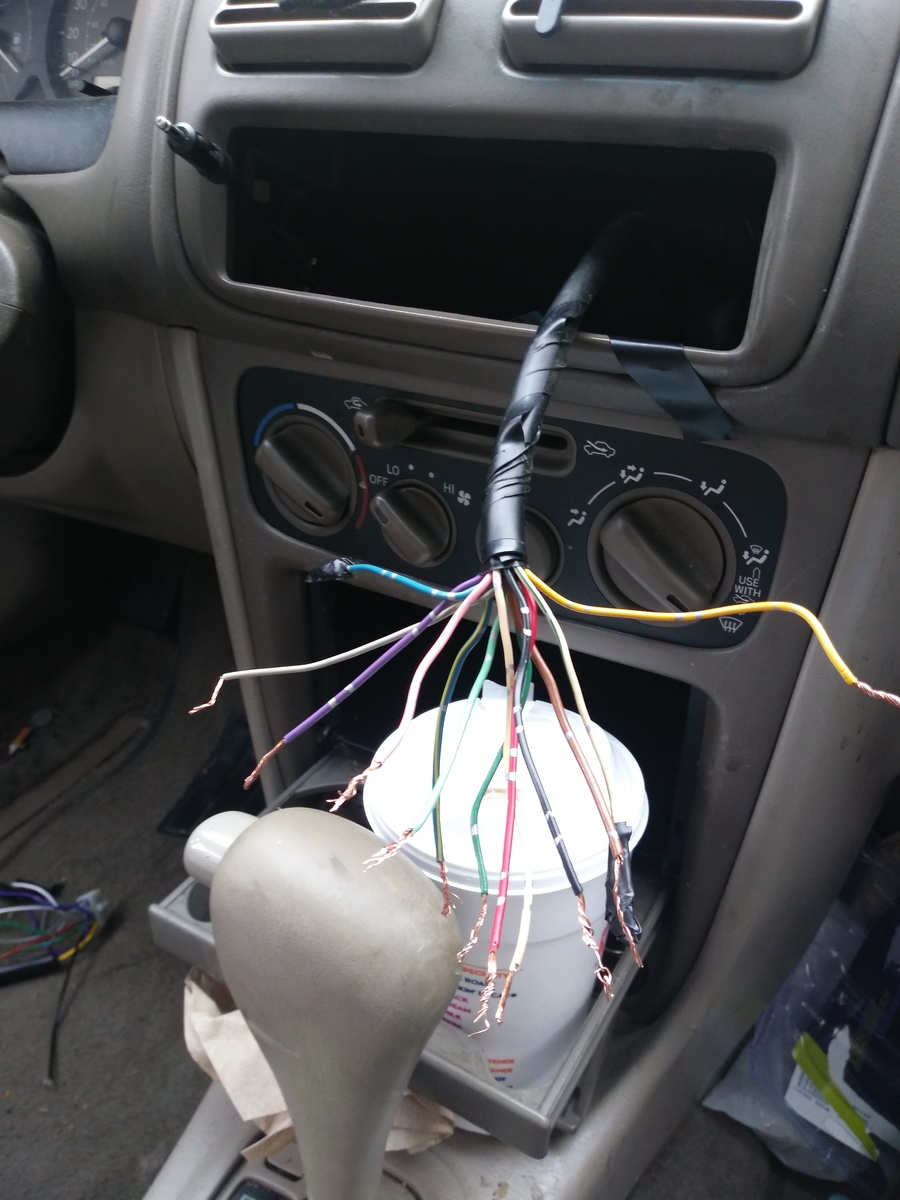 Toyota Corolla Questions What Are Color Codes For Stereo Wires On 97 Power Antenna Wiring Diagram Mark Helpful