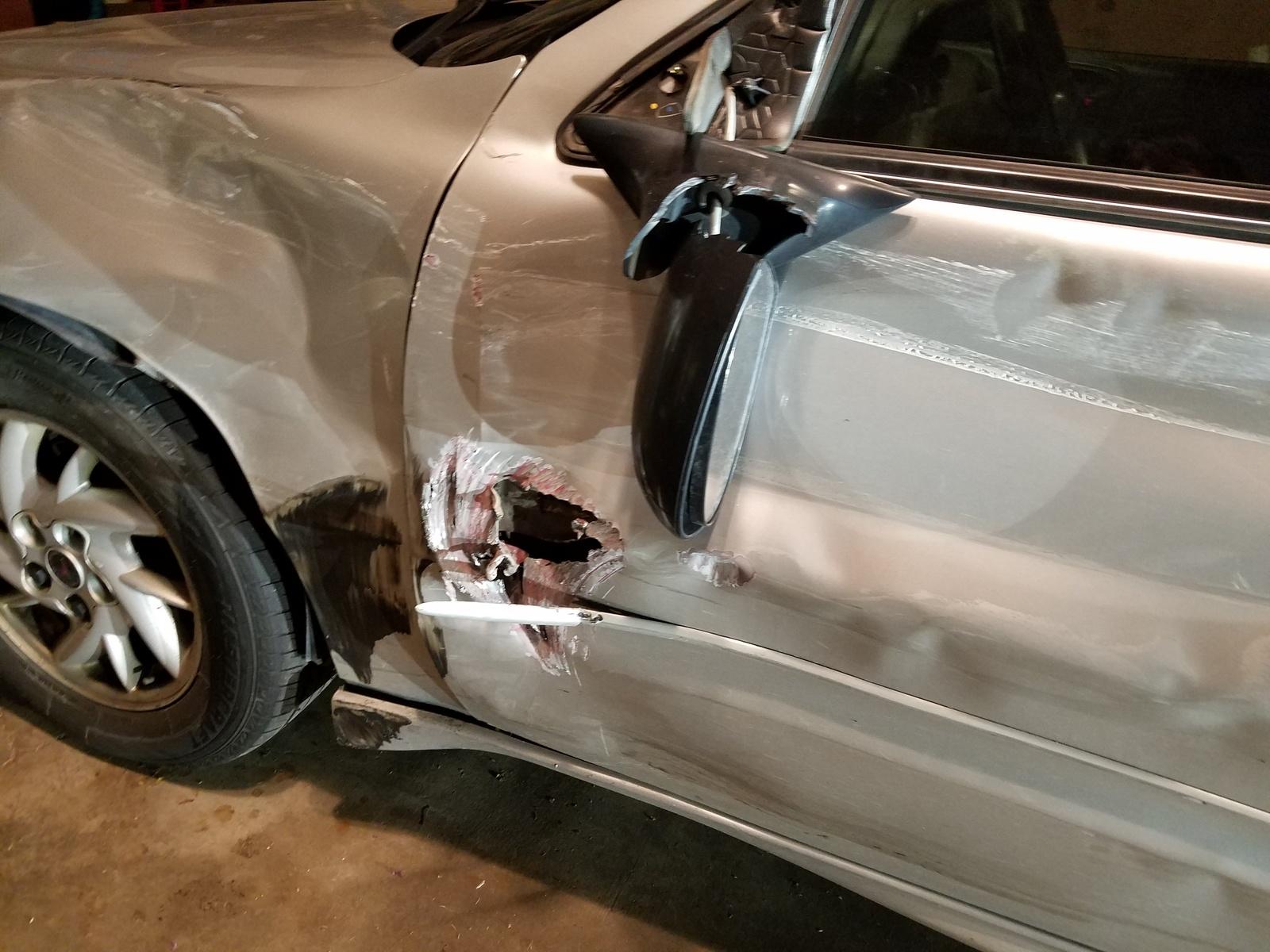 Pontiac Grand Am Questions - The air bag sensor fault on