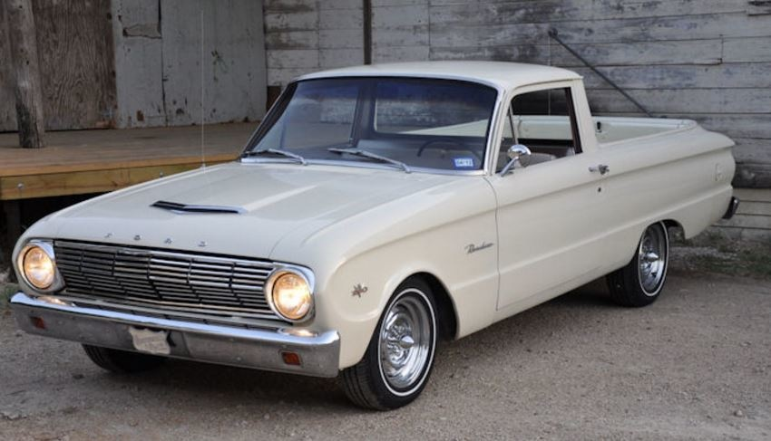 Ford Falcon Questions - Cassette player on radio? - CarGurus