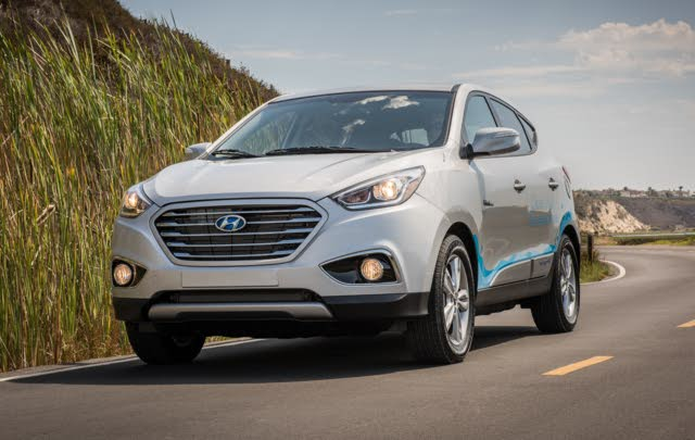 2017 Hyundai Tucson Fuel Cell