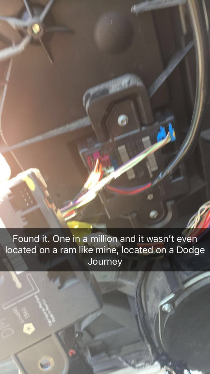 Dodge Journey Questions Loss Of Power On Drivers Side Window 2011 Electric Ke Wiring Diagram 5x5 Box Located In The Door With Three Connectors I Found It At A Pull Apart 2010 Simple Replaced And Worked Like Charm