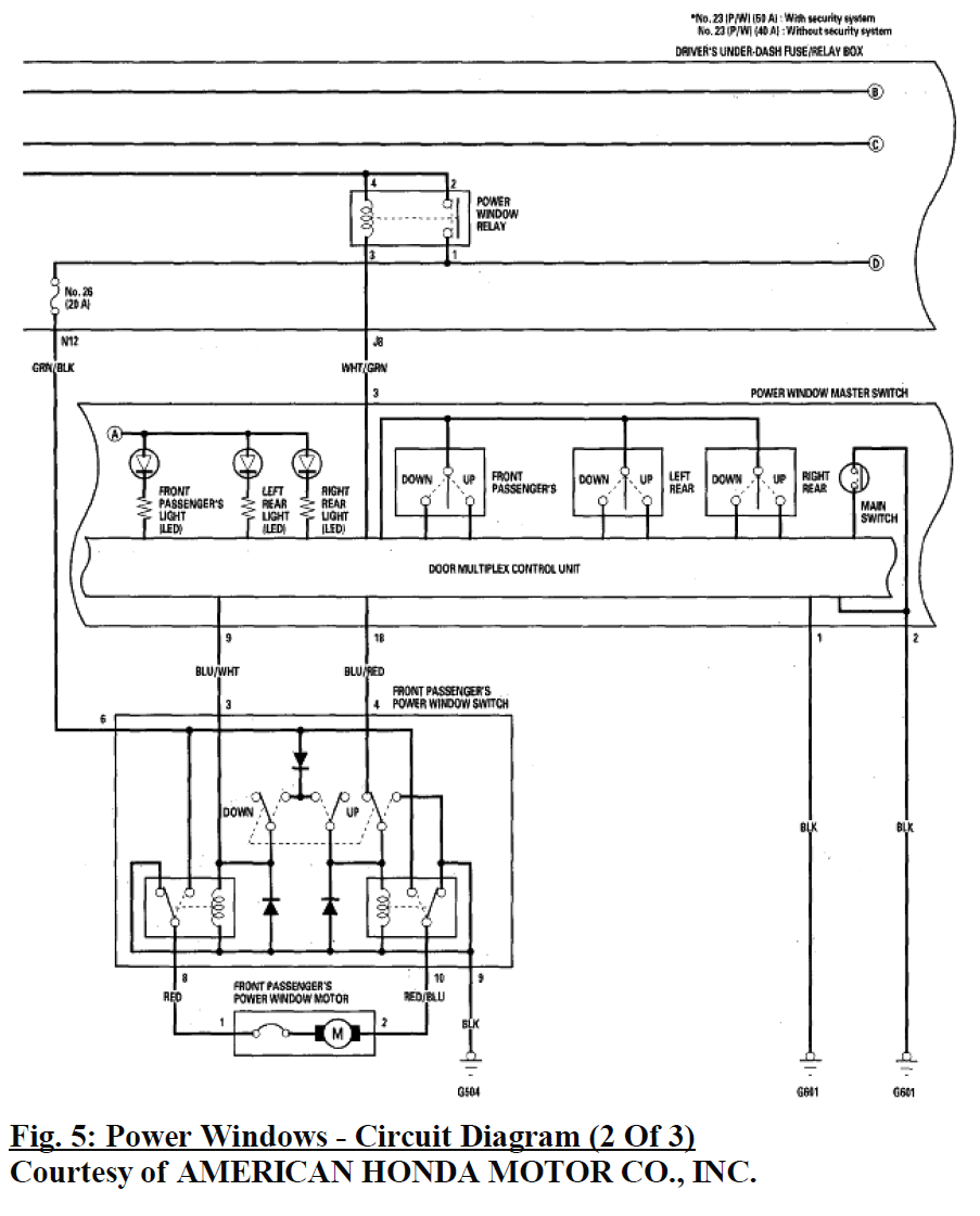"... otherwise only be energized ONLY when the transmitter allows - the  circuit is not ""live"" during standby. attached is a schematic for Odyssey  07-08."