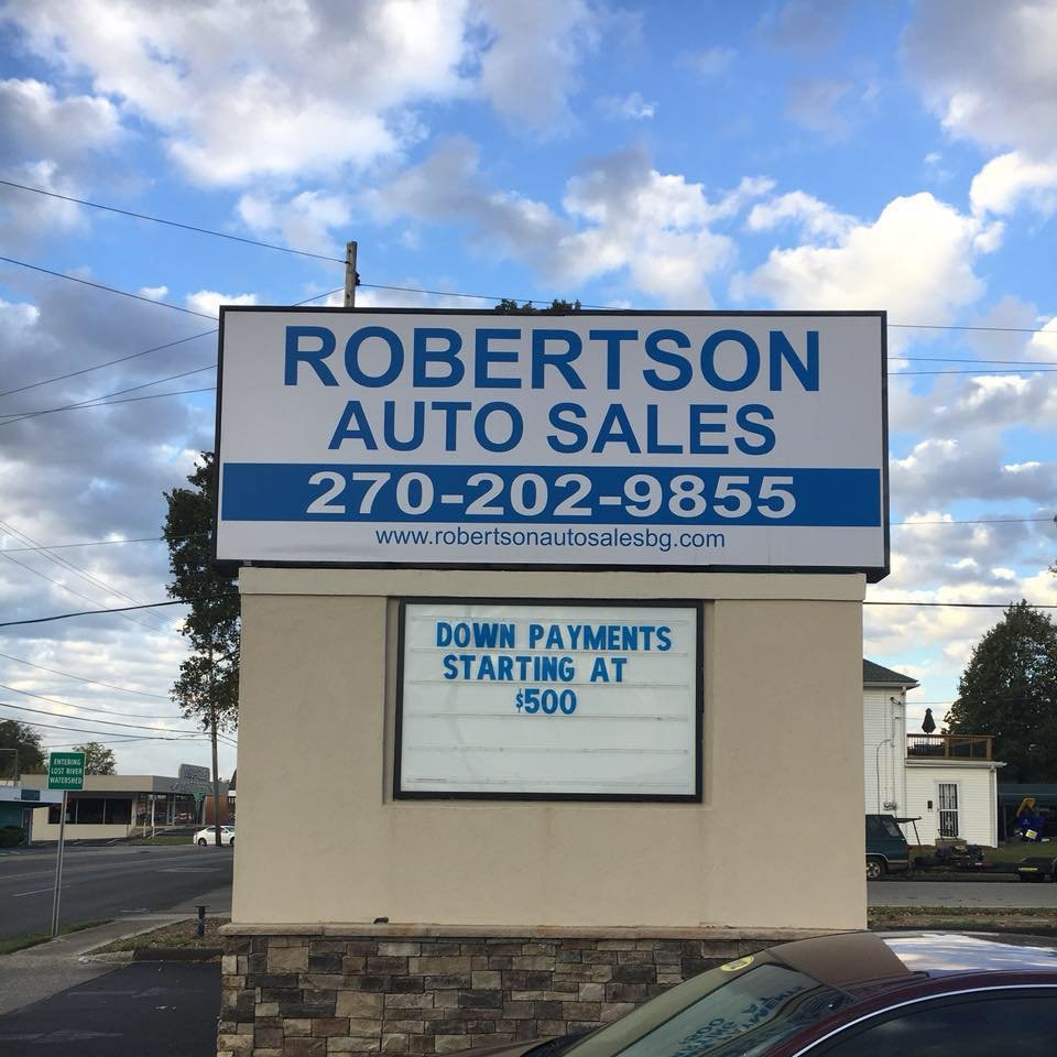 robertson auto sales bowling green ky read consumer reviews browse used and new cars for sale. Black Bedroom Furniture Sets. Home Design Ideas