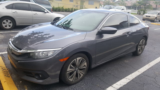 Picture of 2016 Honda Civic Coupe EX-L, exterior, gallery_worthy
