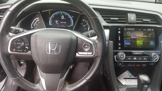 Picture of 2016 Honda Civic Coupe EX-L, interior, gallery_worthy