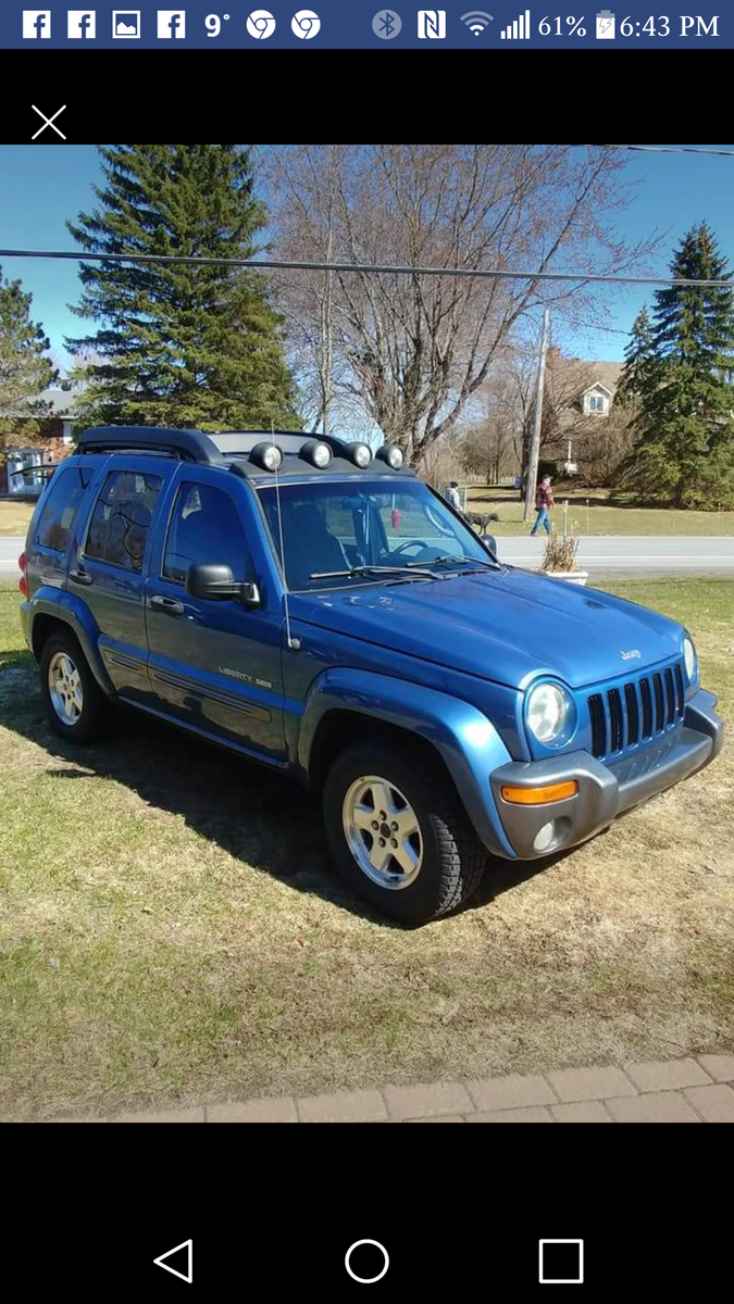 jeep liberty questions tire sizes cargurus. Black Bedroom Furniture Sets. Home Design Ideas