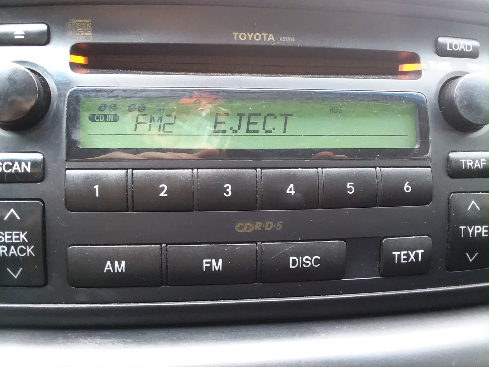My CD player won't eject, load or play any of the car. It just keeps saying  error then when I hit eject or load it keeps saying eject and a yellow  light by ...