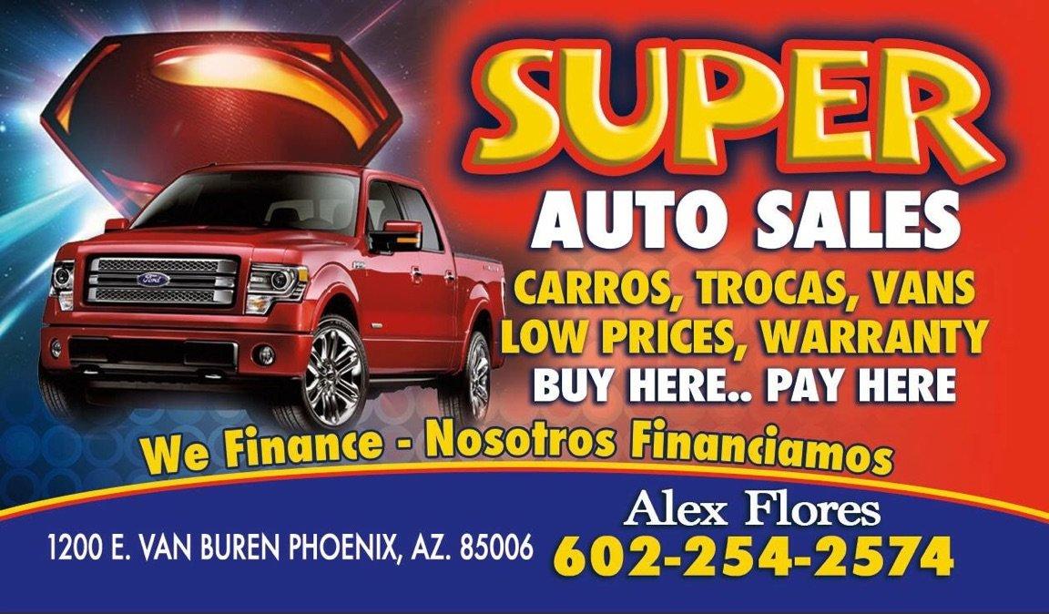 Super Auto Sales >> Super Autos Sales Phoenix Az Read Consumer Reviews