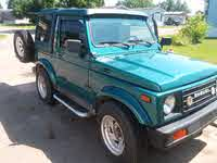 1987 Suzuki Samurai Picture Gallery
