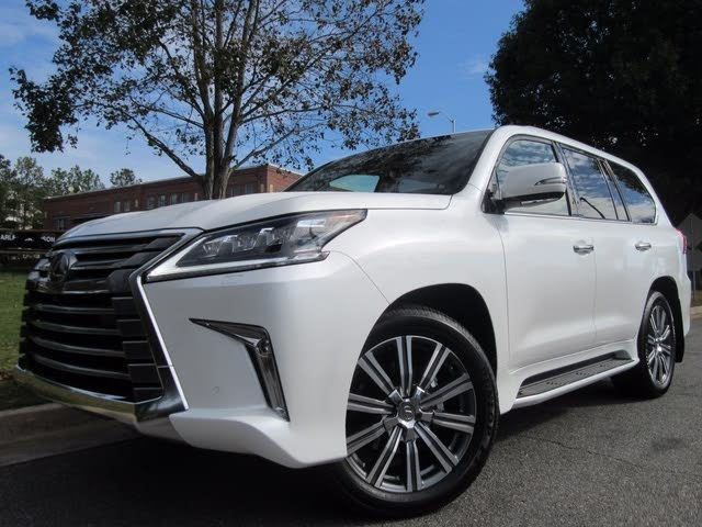 2017 Lexus LX 570 Price Analysis