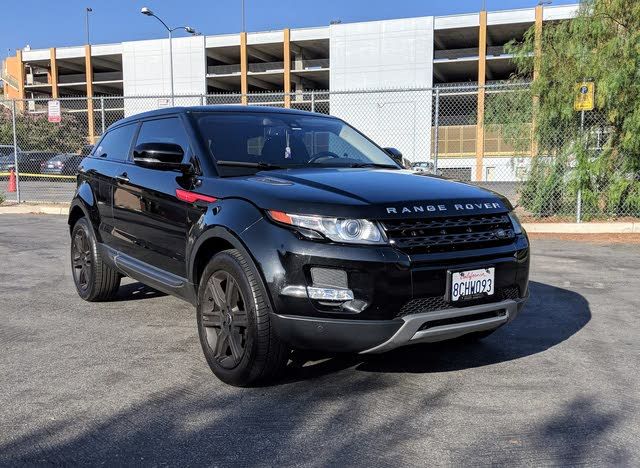 Picture of 2013 Land Rover Range Rover Evoque Pure Plus Coupe