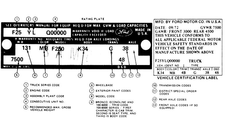 ford trans code 5