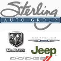 Sterling Chrysler Dodge Jeep Ram logo