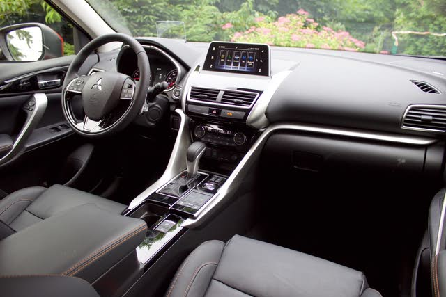 Interior of the 2018 Mitsubishi Eclipse Cross, gallery_worthy
