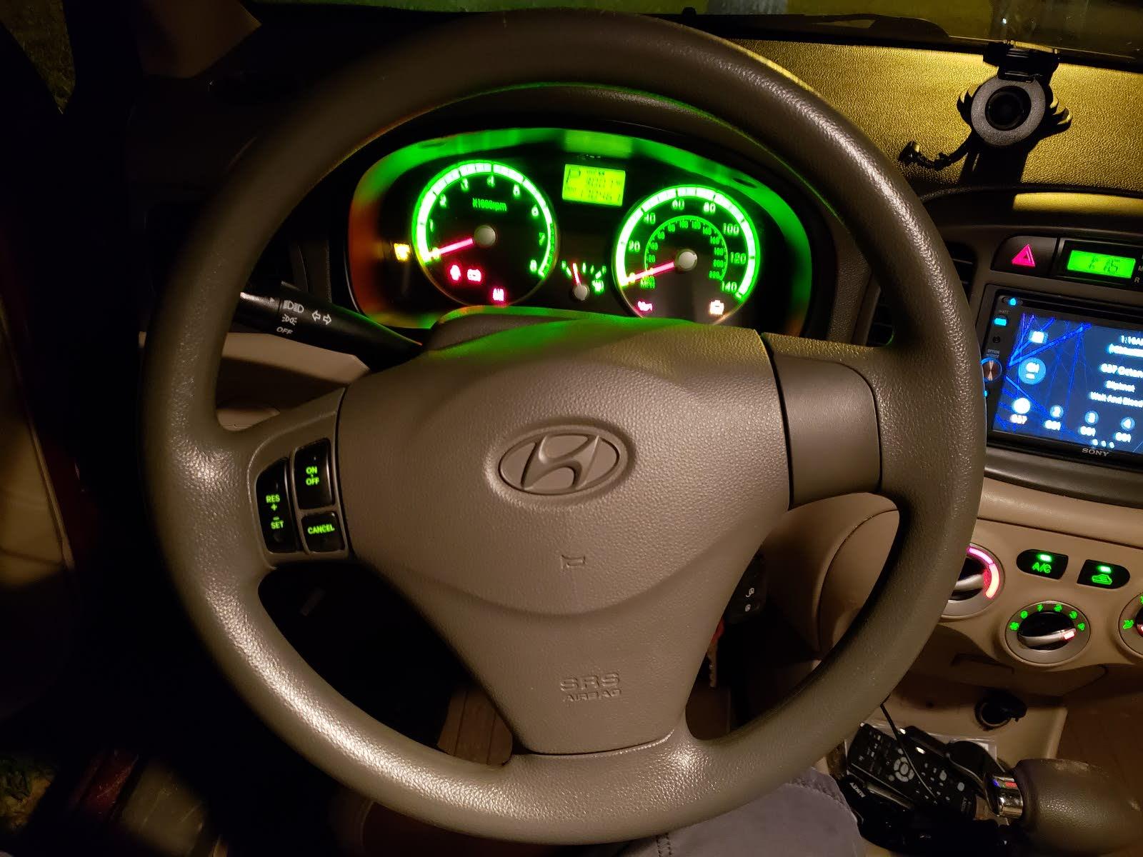 Hyundai Elantra: Cruise Control Cable. Repair procedures