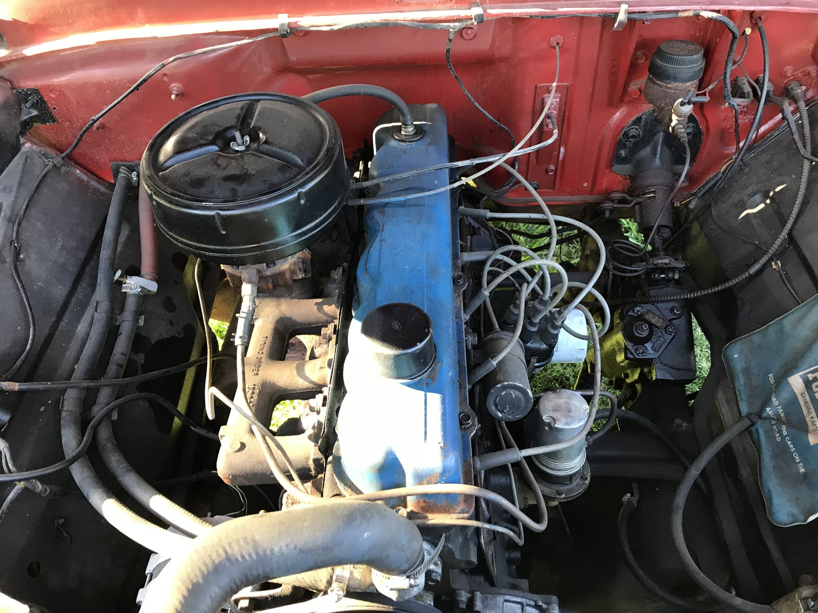 Ford F 100 Questions Trying To Figure Out Which Engine I Have Th6220d Wiring Diagram
