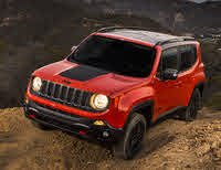 2018 Jeep Renegade, Front-quarter view, exterior, manufacturer, gallery_worthy