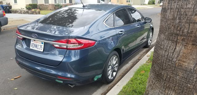 Picture of 2018 Ford Fusion Energi SE Luxury