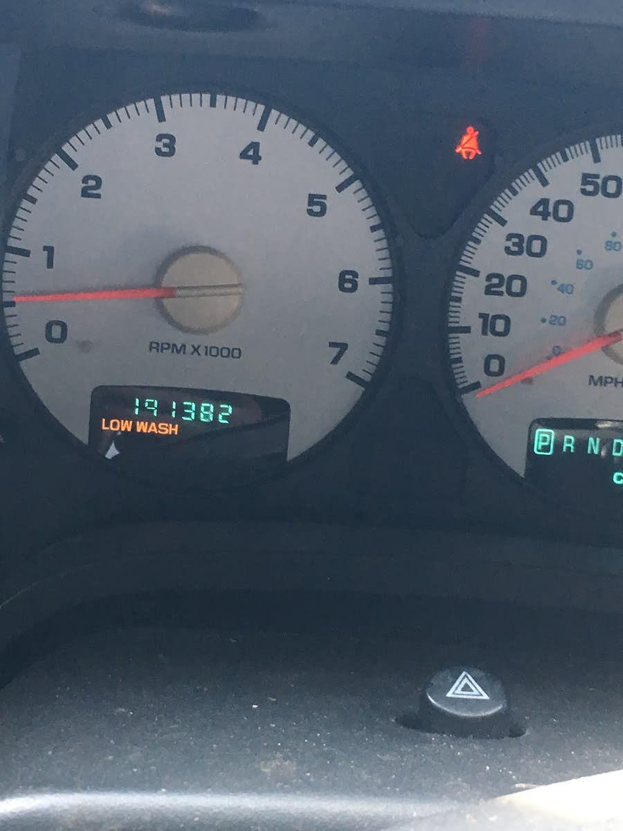 Dodge Ram 1500 Questions - Mileage? - CarGurus