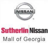 Sutherlin Nissan Mall of Georgia logo
