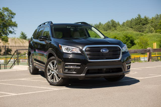 2019 Subaru Ascent Limited 7-Passenger AWD, 2019 Subaru Ascent Limited front-quarter view, gallery_worthy