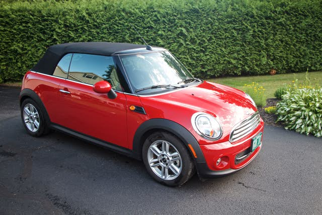 Picture of 2014 MINI Cooper Convertible FWD, exterior, gallery_worthy