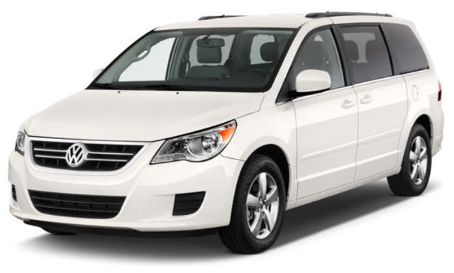 2012 Volkswagen Routan SE w/ RSE and Nav, side view, gallery_worthy