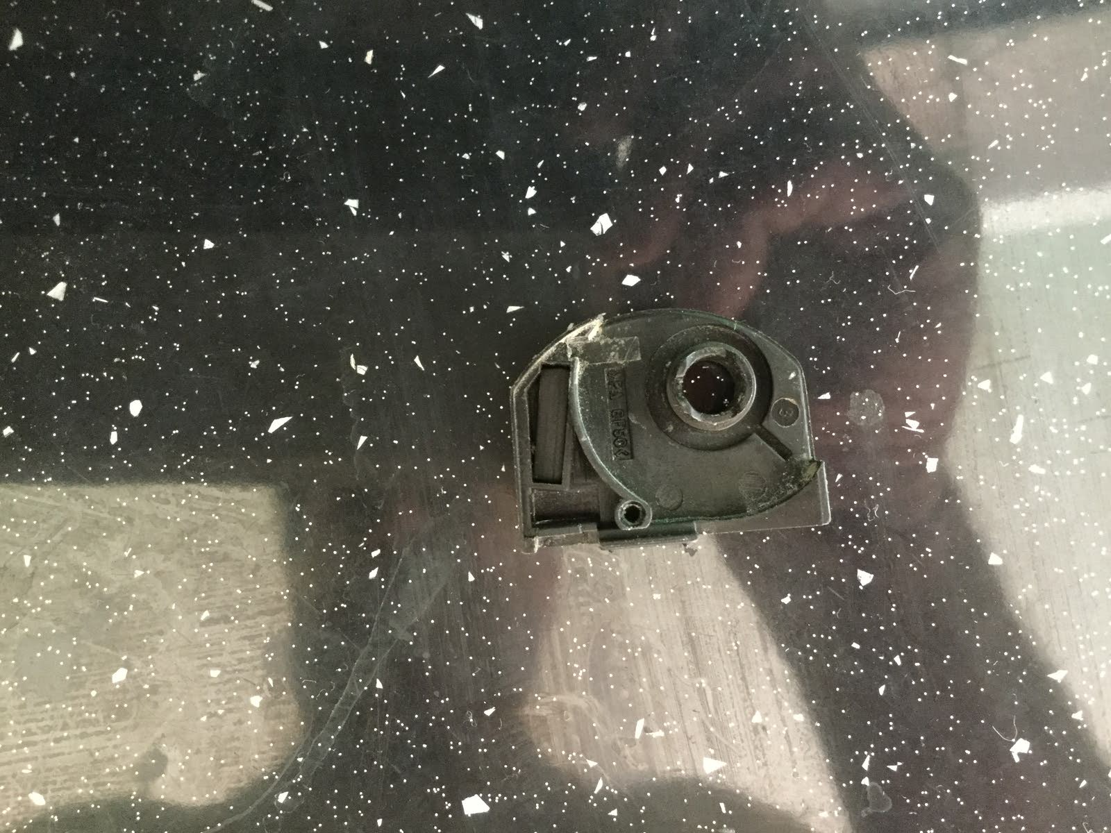 2008 toyota camry security light flashing