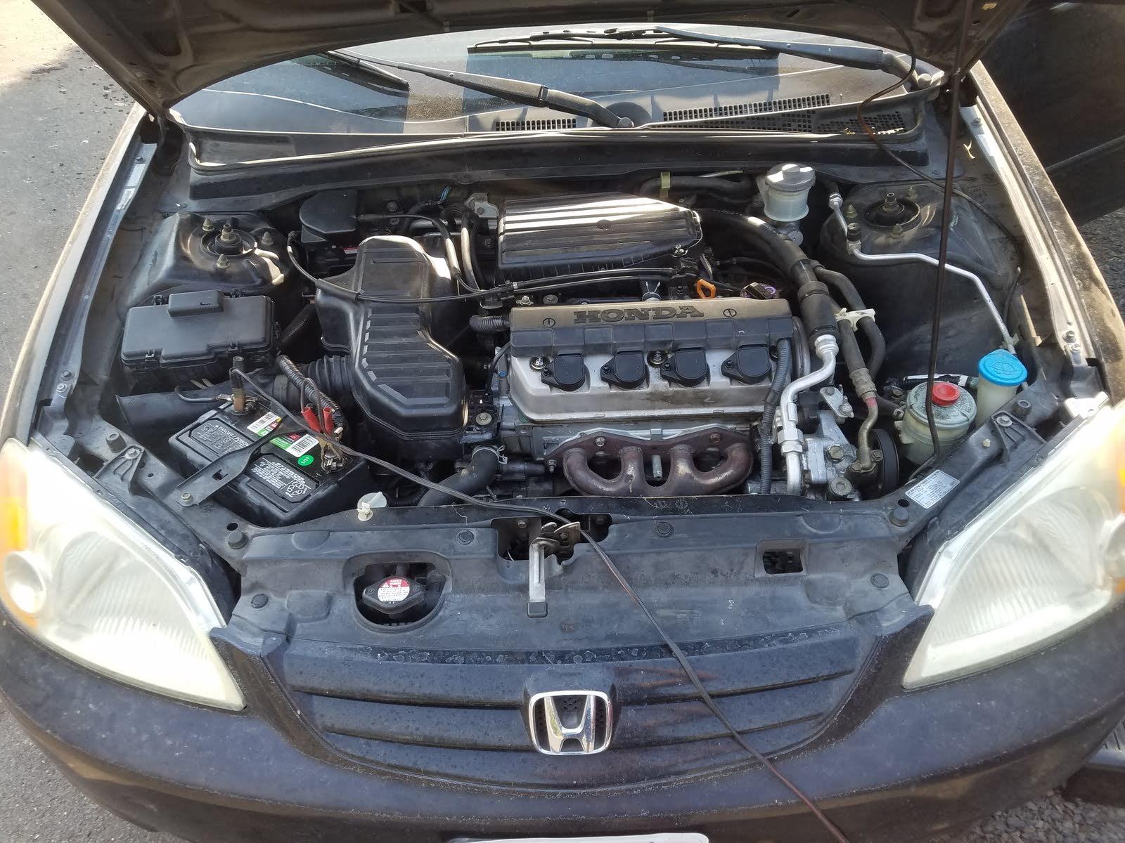 Honda Civic Questions - I got a 2002 Honda Civic 4 door non ... on
