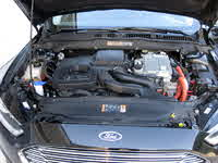 Picture of 2013 Ford Fusion Hybrid Titanium FWD, engine, gallery_worthy