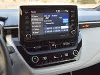 2019 Toyota Corolla Hatchback XSE FWD, 2019 Toyota Corolla Hatchback XSE Entune 3.0 Radio Display, interior, gallery_worthy