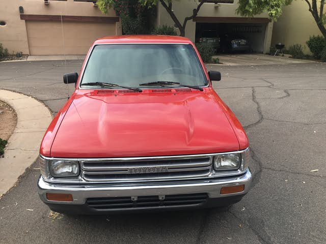 Picture of 1991 Toyota Pickup 2 Dr Deluxe Standard Cab SB, exterior, gallery_worthy