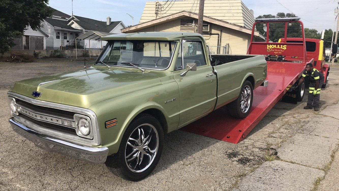 Chevrolet C/K 10 Questions - My 1972 350 shuts off randomly